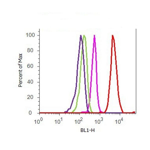 Flow Cytometry - Anti-Tau (phospho T205) antibody (ab4841)