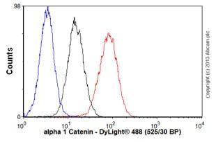 Flow Cytometry - Anti-alpha 1 Catenin antibody [25B1] (ab49105)