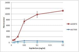 Peptide Array - Anti-Histone H3 (citrulline R2 + R8 + R17) antibody (ab5103)