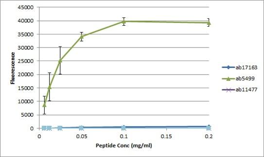 Peptide Array - Anti-Histone H3 (phospho S28) antibody (ab5169)