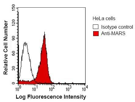Flow Cytometry - Anti-MetRS/MARS antibody [MARSD10B4] (ab50793)