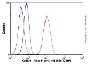Flow Cytometry - Anti-CAB39/MO25 antibody [EP1680Y] (ab51132)