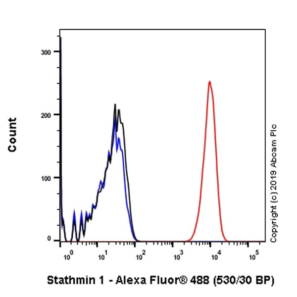 Flow Cytometry - Anti-Stathmin 1 antibody [EP1573Y] (ab52630)