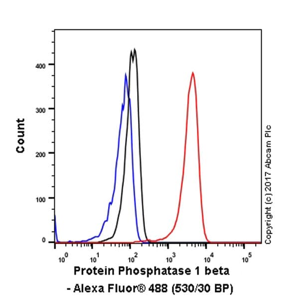Flow Cytometry - Anti-PPP1CB antibody [EP1804Y] (ab53315)