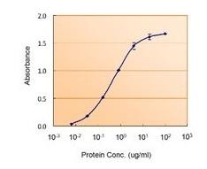 Sandwich ELISA - Anti-GFAP antibody (ab53554)