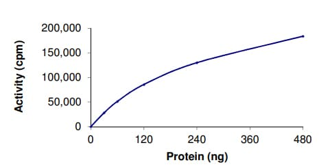 Functional Studies - Recombinant human CSF-1-R protein (ab56259)