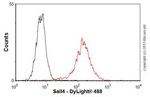 Flow Cytometry - Anti-Sall4 antibody (ab57577)