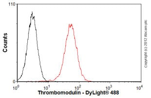 Flow Cytometry - Anti-Thrombomodulin antibody [PBS-01] (ab6980)