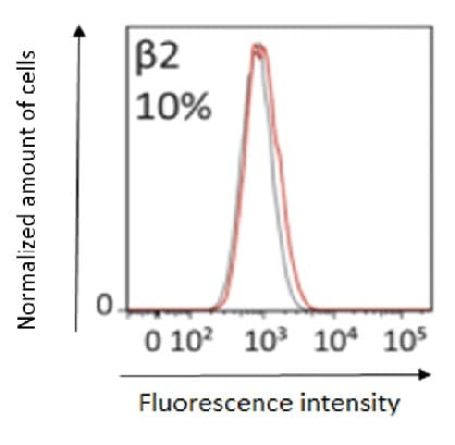 Flow Cytometry - Anti-beta 2 Adrenergic Receptor antibody (ab61778)