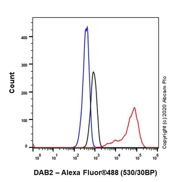 Flow Cytometry - Anti-DAB2 antibody [EP2297Y] (ab76253)