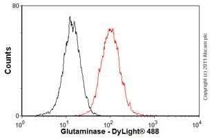 Flow Cytometry - Anti-Activin Receptor Type IIB/ACVR2B antibody (ab76940)