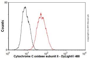 Flow Cytometry - Anti-MTCO2 antibody [EPR3314] (ab79393)