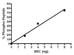 Functional Studies - Recombinant human Src protein (ab79635)