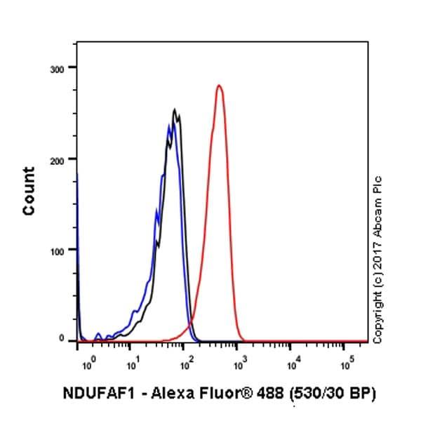 Flow Cytometry - Anti-NDUFAF1 antibody [EPR2796] (ab79826)