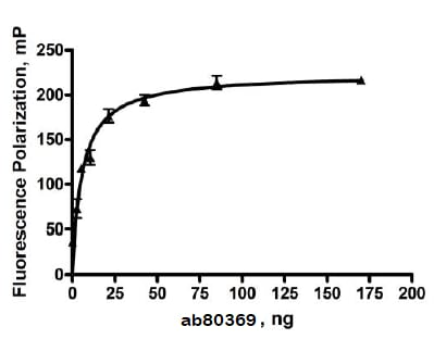 Functional Studies - Recombinant human Hsp90 alpha protein (ab80369)