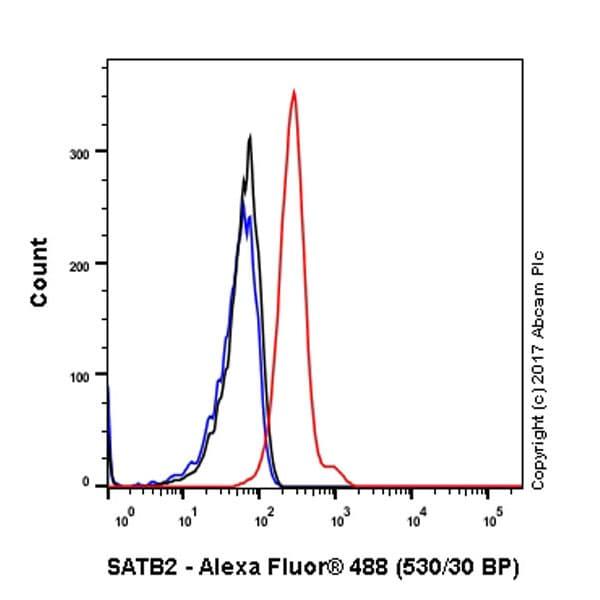 Flow Cytometry - Anti-SATB2 antibody [EPNCIR130A] (ab92446)