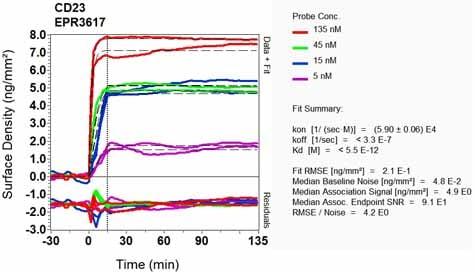 OI-RD Scanning - Anti-CD23 antibody [EPR3617] (ab92495)