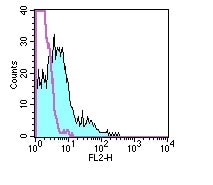 Flow Cytometry - PE Anti-IL2 Receptor beta/p75 antibody [5H4] (ab95585)